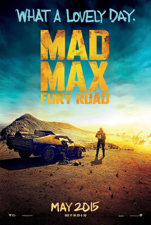 Mad Max Fury Road affiche 2015