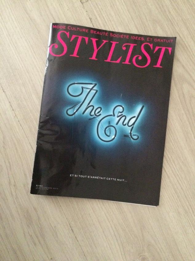 magazine Stylist gratuit parisien