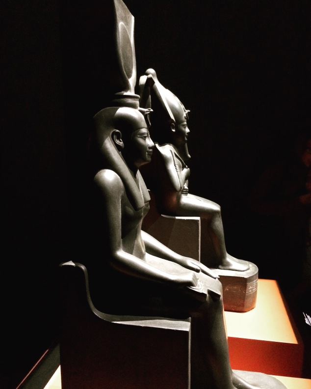 Isis et Osiris institut du monde arabe à Paris