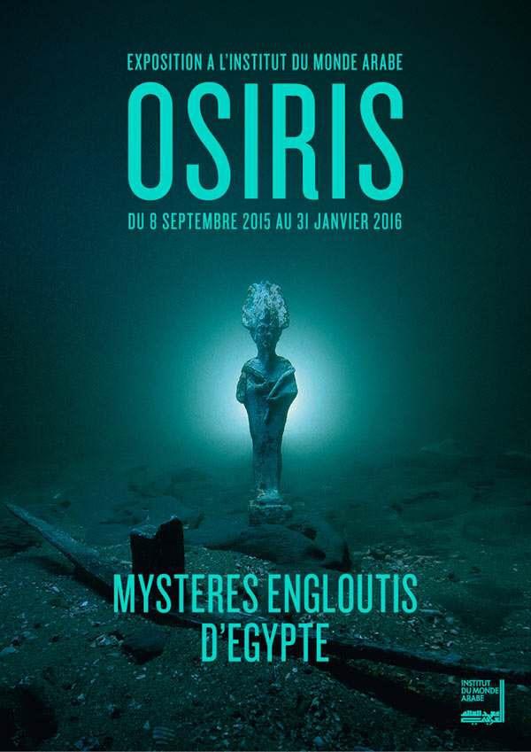 exposition les mysteres d'Osiris à l'institut du monde arabe a Paris