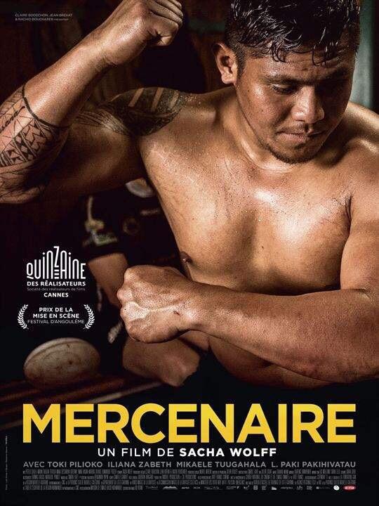 L'affiche du film Mercrenaire de Sacha Wolff octobre 2016