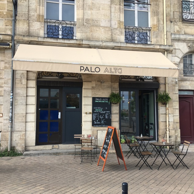 La cafetariat du Palo Alto à Bordeaux pour déjeuner