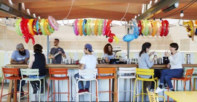 Bar sympa sur Bordeaux sur la terrasse ou rooftop du Mama Shelter Bordeaux