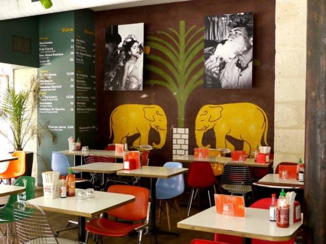 le restaurant fusion asiatique d'Emmanuel Meuret, Santosha à Bordeaux