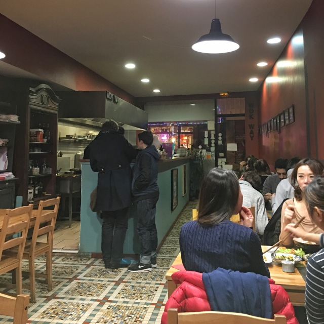Salle du restaurant chinois le Wok Way à Bordeaux